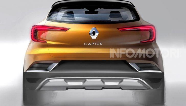 Nuova Renault Captur 2019: SUV d'alto design con variante Plug-In Hybrid - Foto 37 di 47
