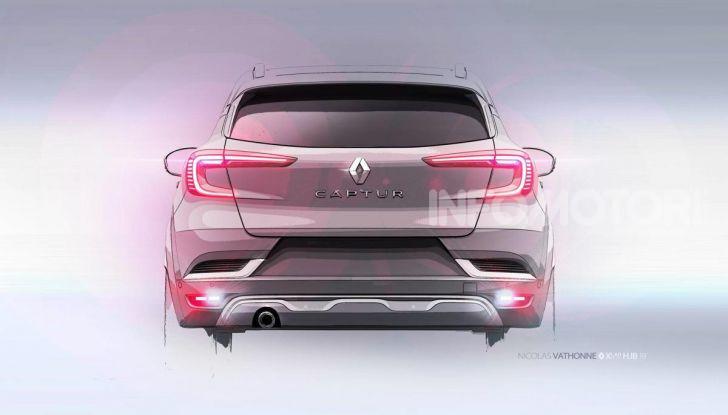Nuova Renault Captur 2019: SUV d'alto design con variante Plug-In Hybrid - Foto 39 di 47