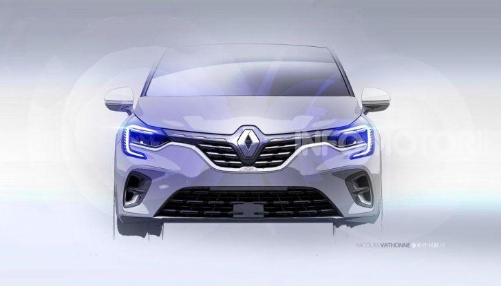 Nuova Renault Captur 2019: SUV d'alto design con variante Plug-In Hybrid - Foto 32 di 39