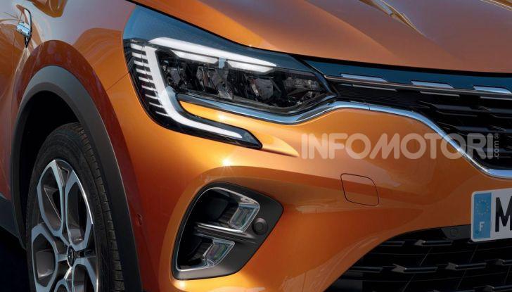 Nuova Renault Captur 2019: SUV d'alto design con variante Plug-In Hybrid - Foto 10 di 39