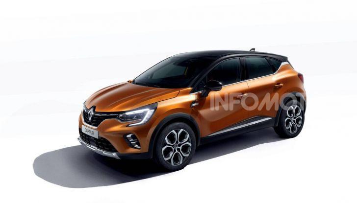 Nuova Renault Captur 2019: SUV d'alto design con variante Plug-In Hybrid - Foto 20 di 47