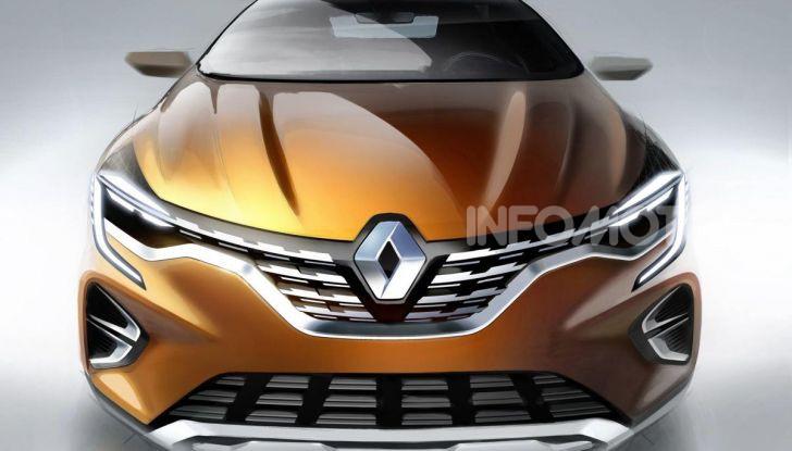 Nuova Renault Captur 2019: SUV d'alto design con variante Plug-In Hybrid - Foto 36 di 39