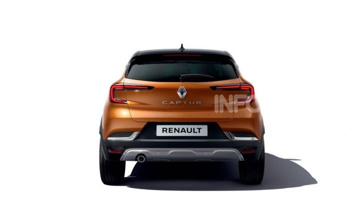 Nuova Renault Captur 2019: SUV d'alto design con variante Plug-In Hybrid - Foto 21 di 47