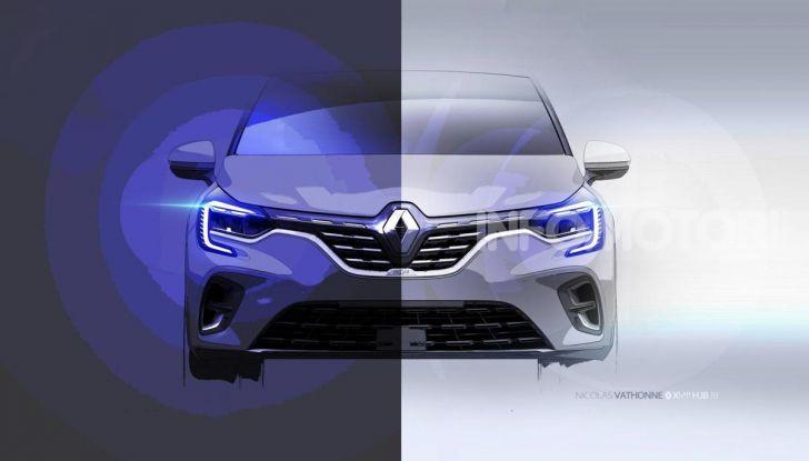 Nuova Renault Captur 2019: SUV d'alto design con variante Plug-In Hybrid - Foto 46 di 47