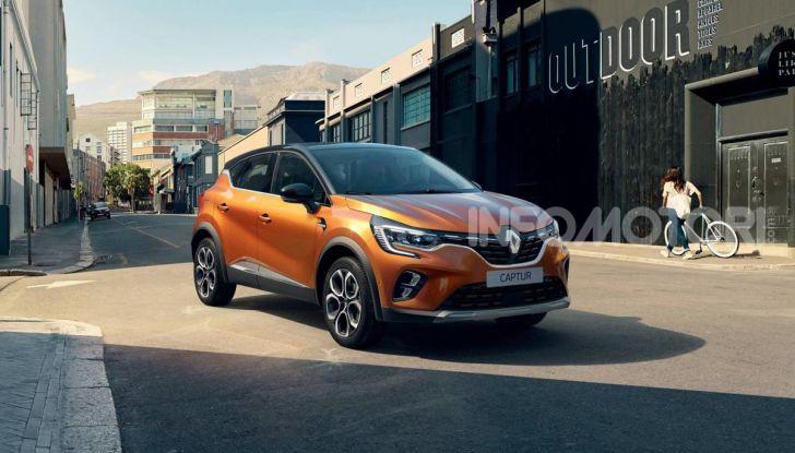 Nuova Renault Captur 2019: SUV d'alto design con variante Plug-In Hybrid - Foto 22 di 47
