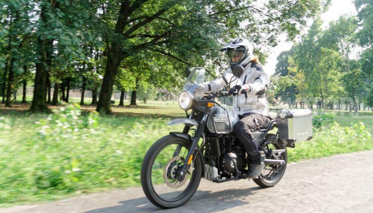 """Prova Royal Enfield Himalayan, il gusto dell'andare in moto """"facile"""" - Foto 4 di 50"""