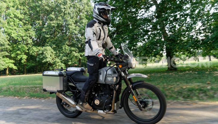 """Prova Royal Enfield Himalayan, il gusto dell'andare in moto """"facile"""" - Foto 5 di 50"""