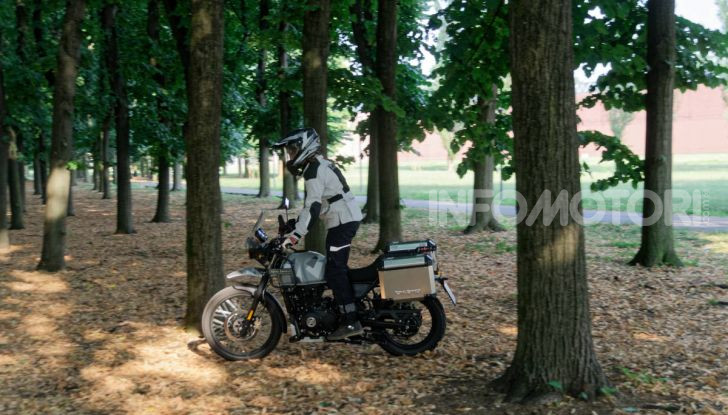 """Prova Royal Enfield Himalayan, il gusto dell'andare in moto """"facile"""" - Foto 8 di 50"""