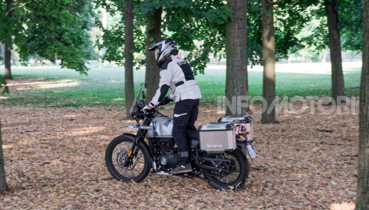 """Prova Royal Enfield Himalayan, il gusto dell'andare in moto """"facile"""" - Foto 9 di 50"""
