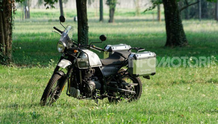 """Prova Royal Enfield Himalayan, il gusto dell'andare in moto """"facile"""" - Foto 19 di 50"""