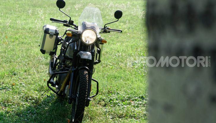 """Prova Royal Enfield Himalayan, il gusto dell'andare in moto """"facile"""" - Foto 21 di 50"""