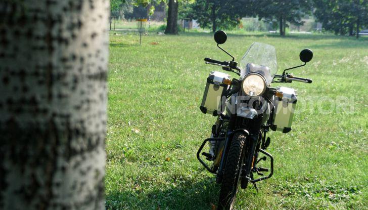 """Prova Royal Enfield Himalayan, il gusto dell'andare in moto """"facile"""" - Foto 22 di 50"""