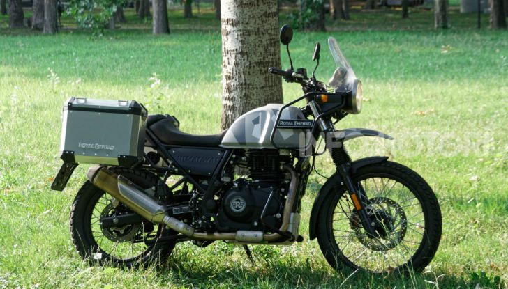 """Prova Royal Enfield Himalayan, il gusto dell'andare in moto """"facile"""" - Foto 24 di 50"""