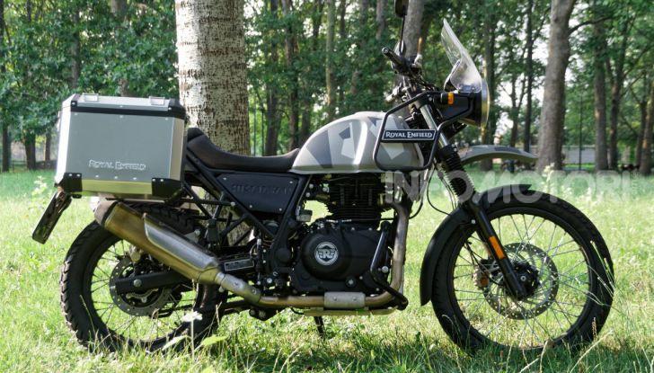 """Prova Royal Enfield Himalayan, il gusto dell'andare in moto """"facile"""" - Foto 28 di 50"""