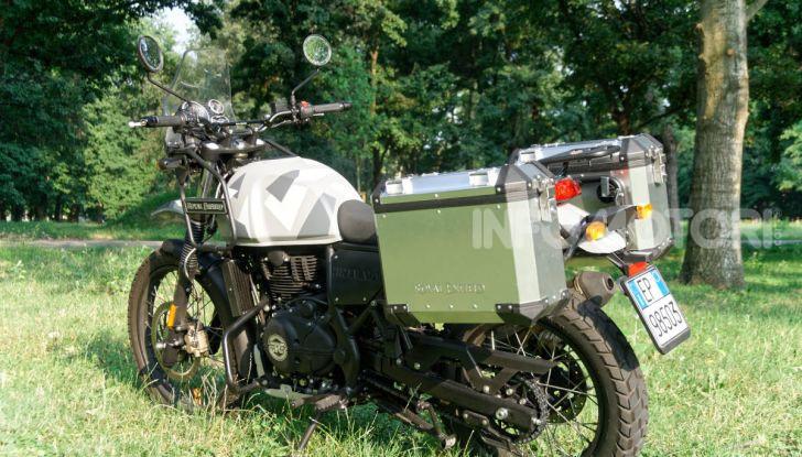 """Prova Royal Enfield Himalayan, il gusto dell'andare in moto """"facile"""" - Foto 30 di 50"""