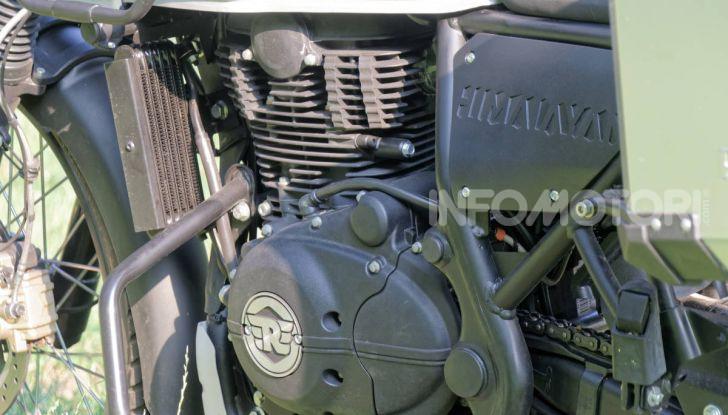 """Prova Royal Enfield Himalayan, il gusto dell'andare in moto """"facile"""" - Foto 32 di 50"""