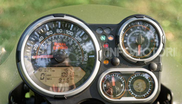 """Prova Royal Enfield Himalayan, il gusto dell'andare in moto """"facile"""" - Foto 35 di 50"""