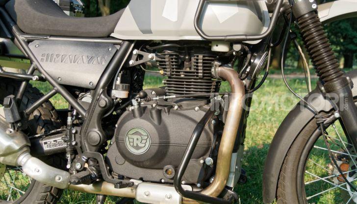 """Prova Royal Enfield Himalayan, il gusto dell'andare in moto """"facile"""" - Foto 39 di 50"""