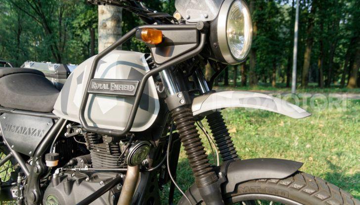 """Prova Royal Enfield Himalayan, il gusto dell'andare in moto """"facile"""" - Foto 40 di 50"""