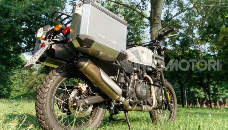 """Prova Royal Enfield Himalayan, il gusto dell'andare in moto """"facile"""" - Foto 42 di 50"""