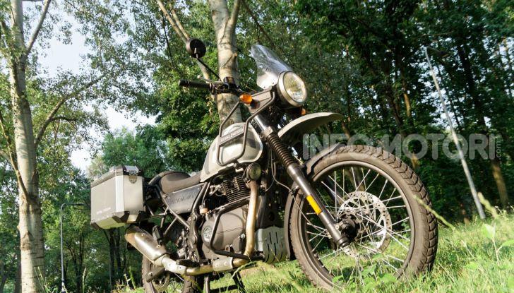 """Prova Royal Enfield Himalayan, il gusto dell'andare in moto """"facile"""" - Foto 44 di 50"""