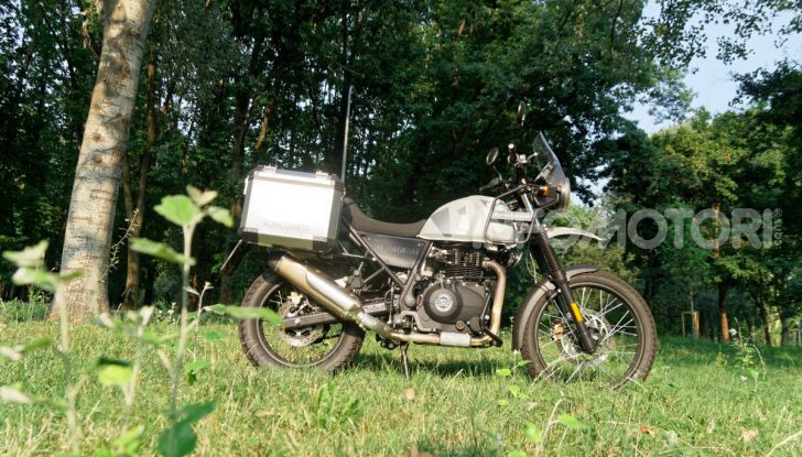 """Prova Royal Enfield Himalayan, il gusto dell'andare in moto """"facile"""" - Foto 45 di 50"""