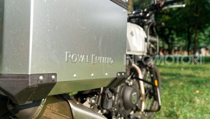 """Prova Royal Enfield Himalayan, il gusto dell'andare in moto """"facile"""" - Foto 49 di 50"""