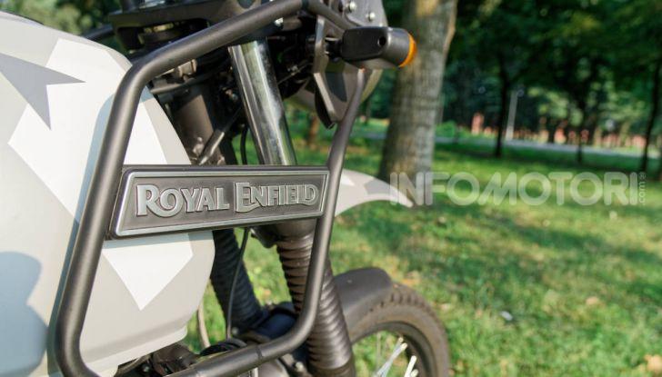 """Prova Royal Enfield Himalayan, il gusto dell'andare in moto """"facile"""" - Foto 50 di 50"""