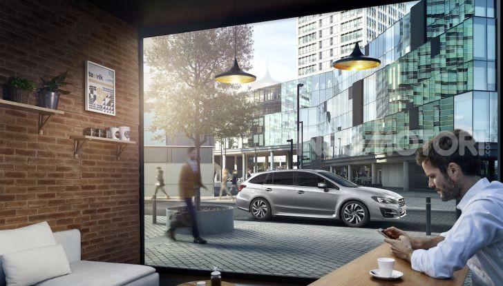 Subaru Levorg MY 2019: la sport tourer si evolve in safety tourer - Foto 11 di 20