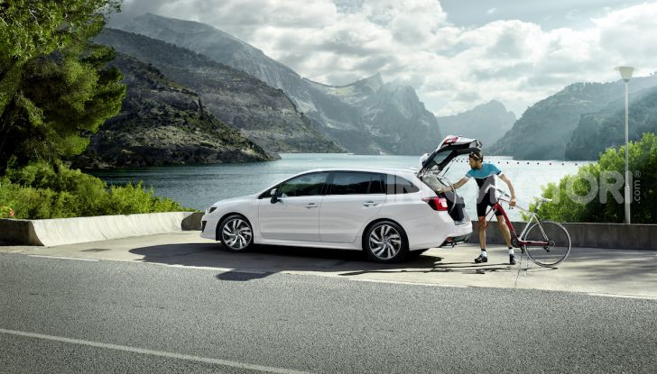 Subaru Levorg MY 2019: la sport tourer si evolve in safety tourer - Foto 10 di 20