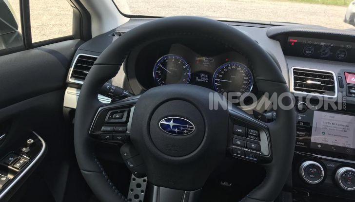 Subaru Levorg MY 2019: la sport tourer si evolve in safety tourer - Foto 5 di 20