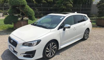 Subaru Levorg MY 2019: la sport tourer si evolve in safety tourer