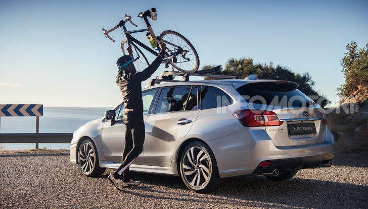 Subaru Levorg MY 2019: la sport tourer si evolve in safety tourer - Foto 2 di 20