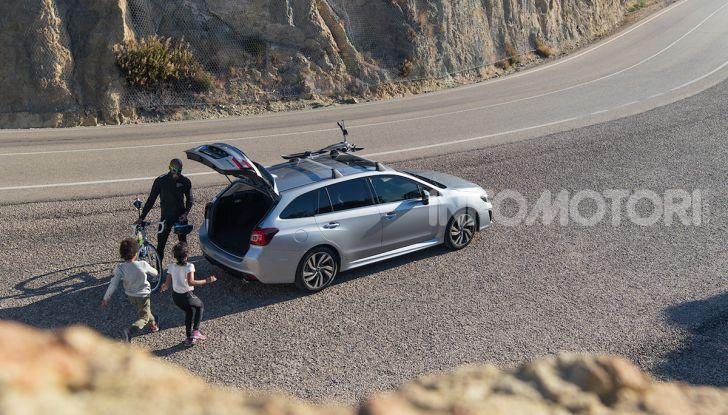 Subaru Levorg MY 2019: la sport tourer si evolve in safety tourer - Foto 18 di 20