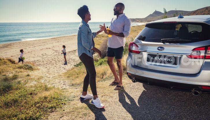Subaru Levorg MY 2019: la sport tourer si evolve in safety tourer - Foto 16 di 20