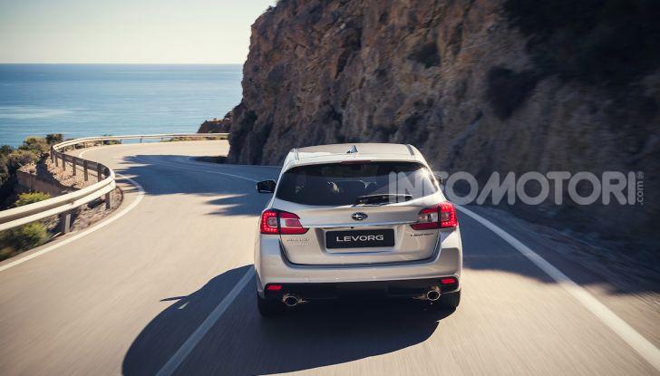 Subaru Levorg MY 2019: la sport tourer si evolve in safety tourer - Foto 15 di 20