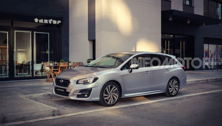 Subaru Levorg MY 2019: la sport tourer si evolve in safety tourer - Foto 13 di 20