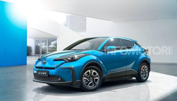 Toyota C-HR EV 2020: il SUV Coupé presto anche elettrico - Foto 4 di 6