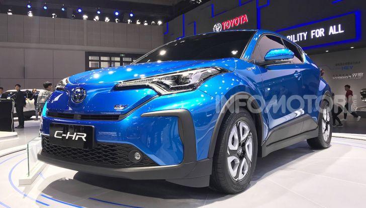 Toyota C-HR EV 2020: il SUV Coupé presto anche elettrico - Foto 5 di 6