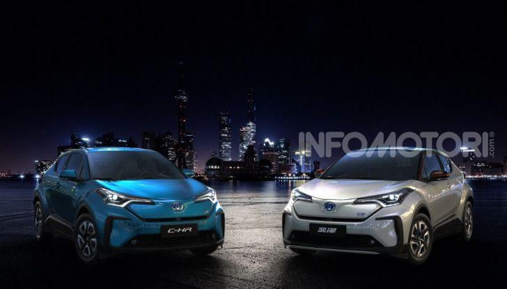 Toyota C-HR EV 2020: il SUV Coupé presto anche elettrico - Foto 2 di 6