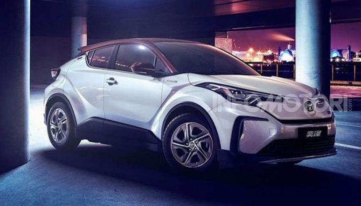 Toyota C-HR EV 2020: il SUV Coupé presto anche elettrico - Foto 6 di 6