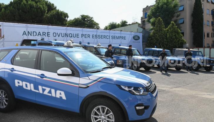 30 Land Rover Discovery consegnate alla Polizia di Stato - Foto 2 di 7