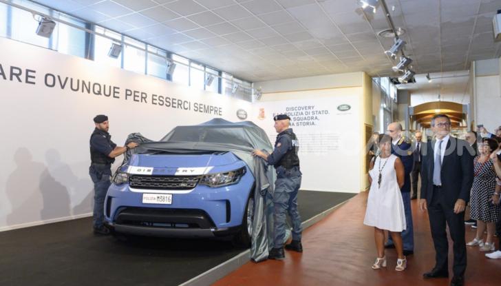 30 Land Rover Discovery consegnate alla Polizia di Stato - Foto 5 di 7