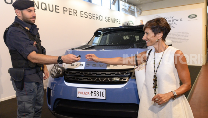 30 Land Rover Discovery consegnate alla Polizia di Stato - Foto 6 di 7