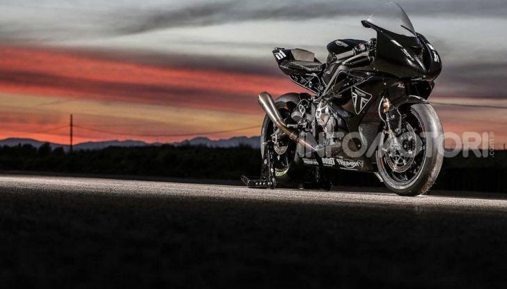 Triumph Daytona 765 2020: arriva la nuova sportiva di Hinckley - Foto 8 di 10