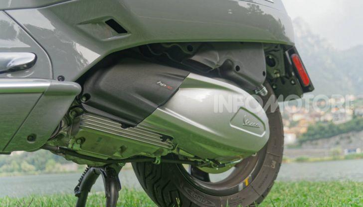 Vespa GTS 300 hpe SuperTech 2019 motore engine