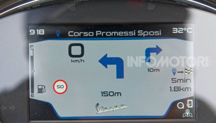 Prova Vespa GTS 300 hpe SuperTech, mai guidata una Vespa così! - Foto 36 di 49