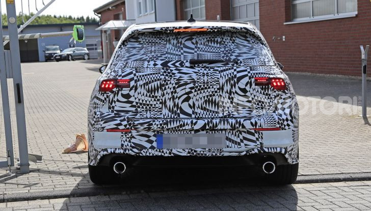 Nuova Volkswagen Golf GTI, primi dati e dettagli - Foto 9 di 15
