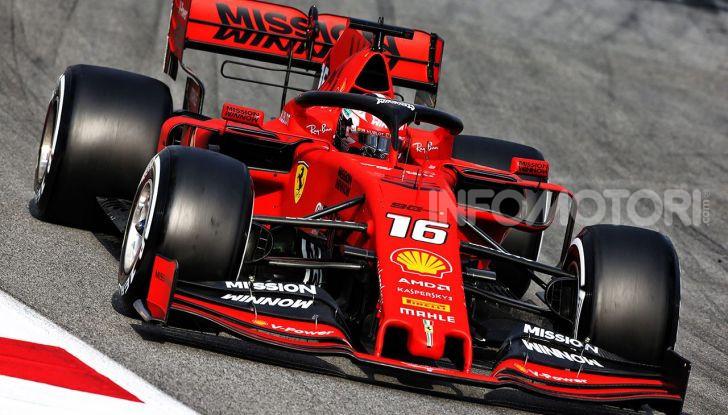 F1 2019 GP di Germania: Leclerc e la Ferrari brillano nelle libere di Hockenheim davanti a Vettel e Hamilton - Foto 9 di 17