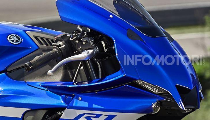 Nuove Yamaha YZF-R1 2020 e R1M 2020: ancora più MotoGP! - Foto 12 di 39